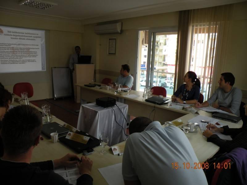 OHSAS 18001 İş Güvenliği Eğitimi Fotoğrafları